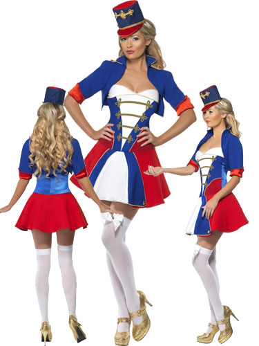 Fever Naughty Nutcracker Fancy Dress Costumes