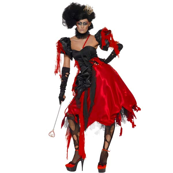 Queen Of Hearts Halloween Fancy Dress Costumes