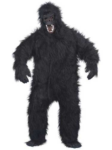 Gorilla Fancy Dress Costumes
