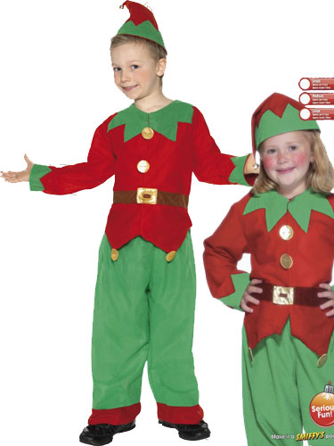 Elf Fancy Dress Costumes