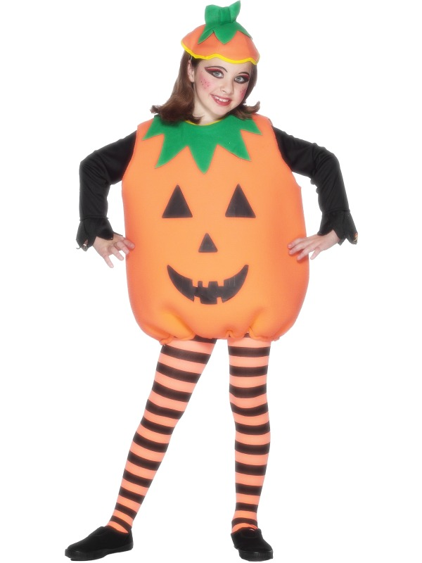 Childs Pumpkin Halloween Costume
