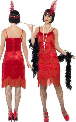 1920s Flapper Shimmy Costume