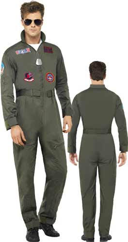Officially Licensed Top Gun Deluxe Costume