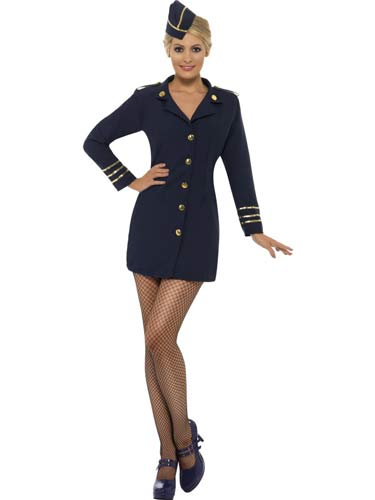 Flight Attendant Fancy Dress Costumes