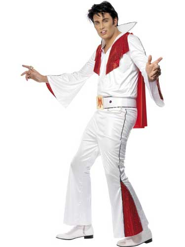 Officially Licensed Mens Elvis Fancy Dress Costumes