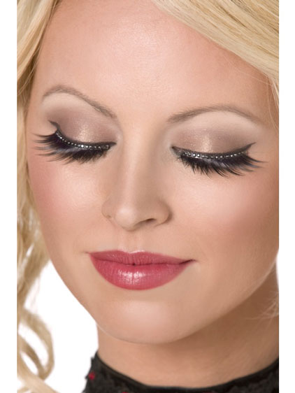 Black Glamour Eyelashes x6