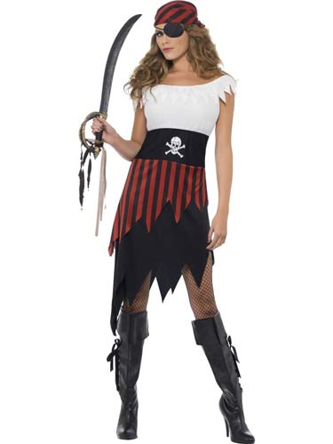 Pirate Wench Female Fancy Dress Costumes