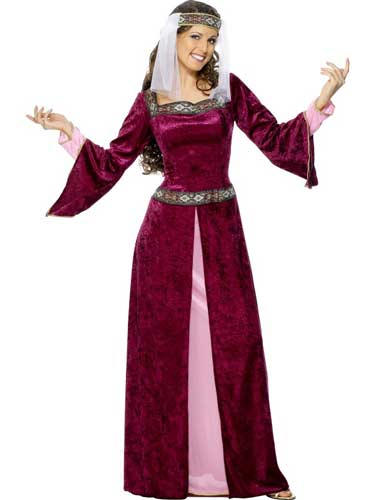 Maid Marion Female Fancy Dress Costume