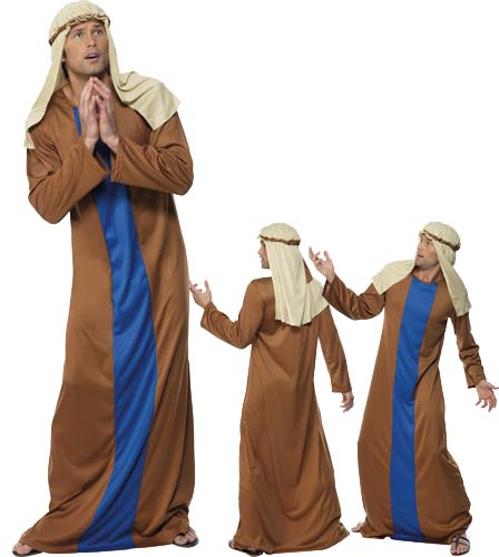 Adult Joseph Fancy Dress Costumes Medium Size Only