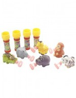 Wild Animal Bubble Set