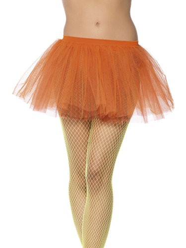 Neon Orange Layered Tutu