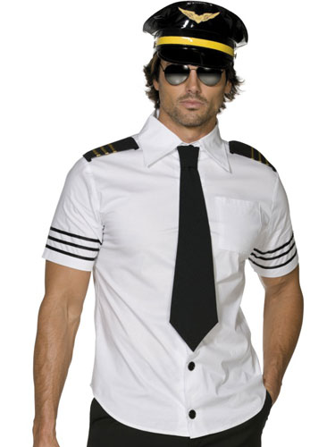 Fever Mile High Mens Fancy Dress Costumes