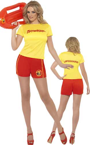 Baywatch Ladies Beach Costume