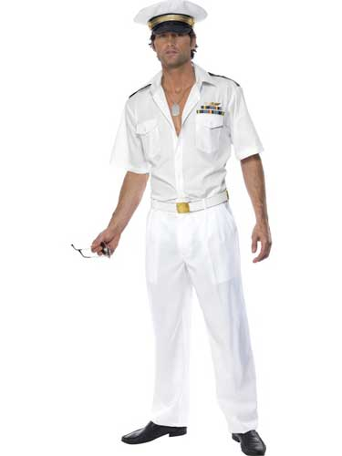 Officially Licensed Top Gun Captain Costumes