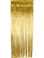 Gold Shimmer Curtain