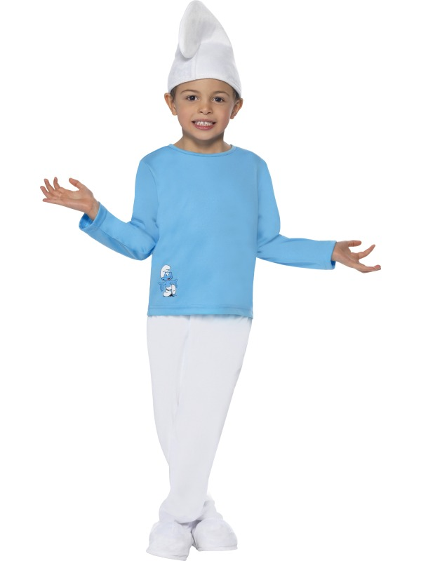Officially Licensed Boy Smurf Fancy Dress Costumes