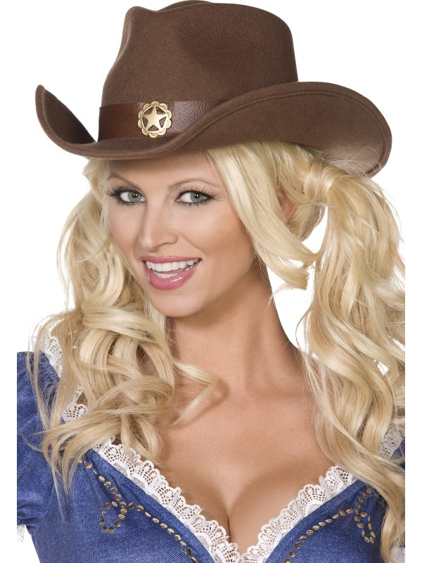 Fever Boutique Wild West Cowboy Hat