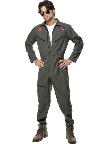Officially Licensed Top Gun Male Costumes