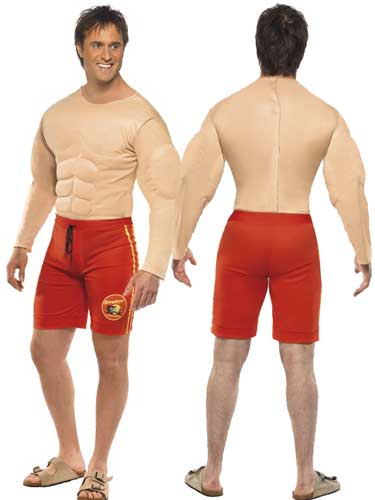 Officially Licensed Male Baywatch Lifeguard Costumes