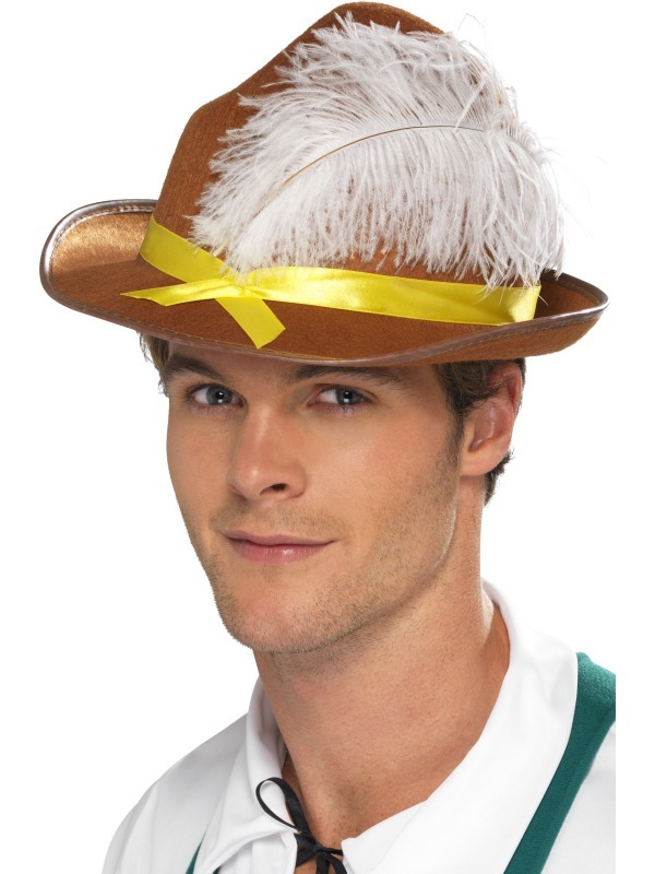 Brown Bavarian Hat