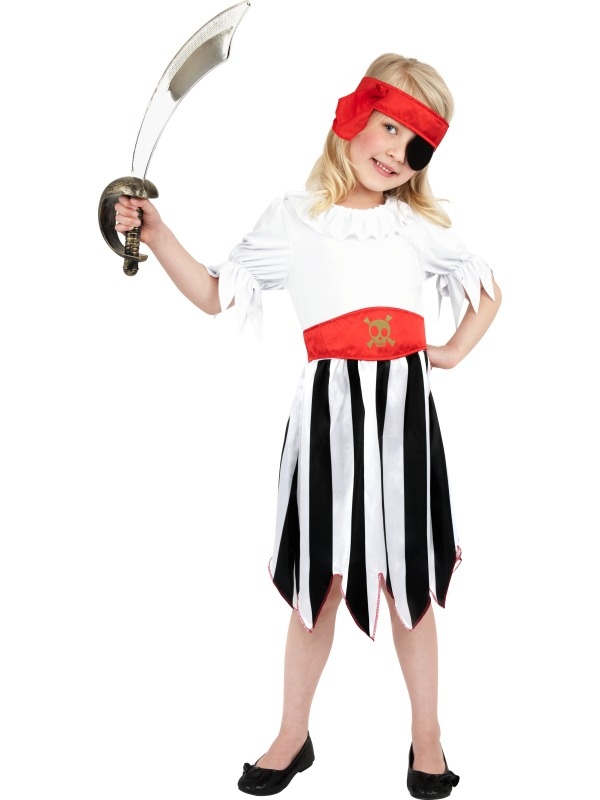 Pirate Girl Fancy Dress Costumes