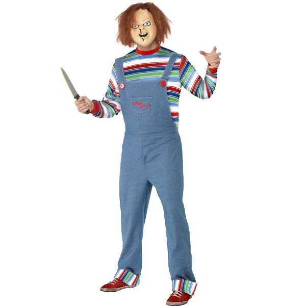 Officially Licensed Chucky Fancy Dress Costumes