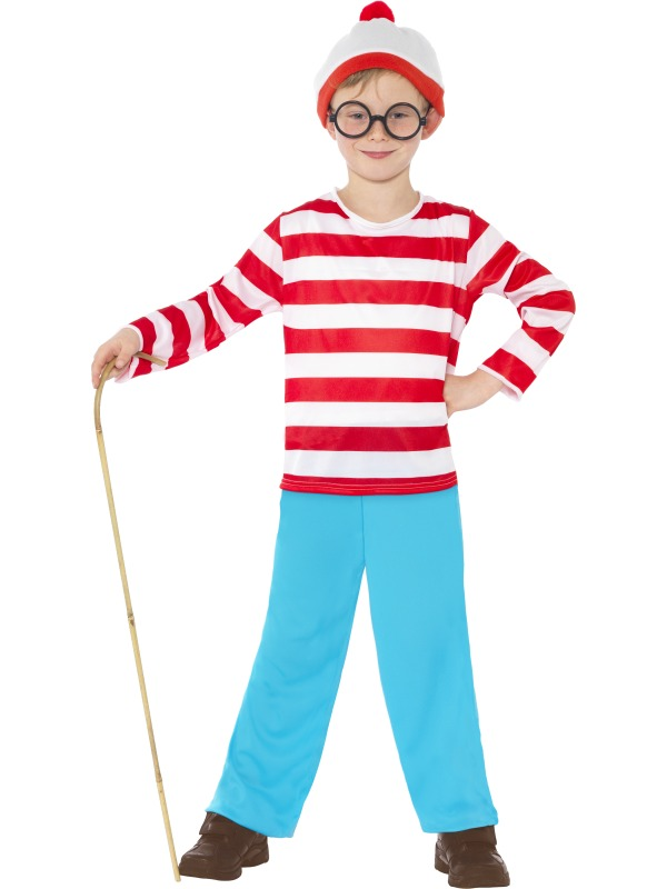Officially Licensed Where's Wally Fancy Dress Costumes
