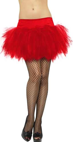 Red Frilly Tutu
