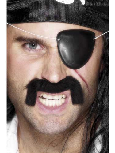Black Pirate Eyepatch x140