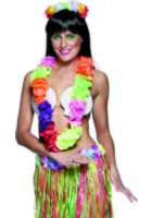 Deluxe Multi Coloured Hawaiian Lei with Flowers