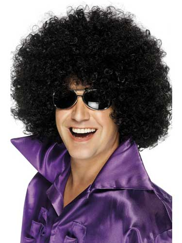 Black Mega Huge Afro Wigs