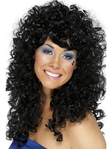 Black Boogie Babe Wigs