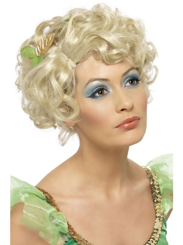 Blonde Fairy Wigs With Flowers
