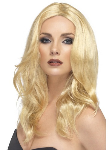 Blonde Superstar Wigs With Skin Parting