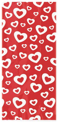 Hearts A Fire Cello Bags 20pk