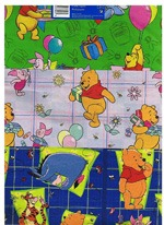 Winnie The Pooh Gift Wrap Paper